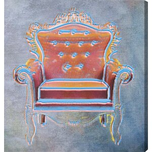 The Throne II Canvas Print, Oliver Gal by Oliver Gal