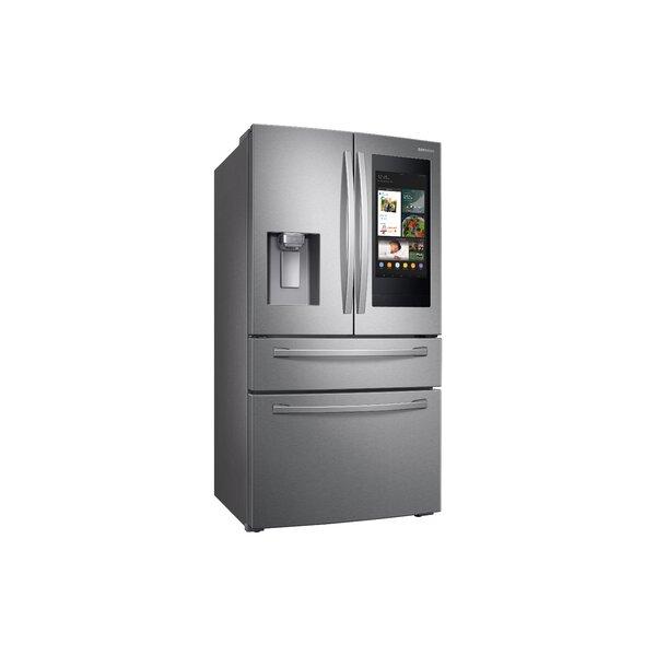36 4-Door French Door 27.7 cu. ft. Smart Refrigerator with Family Hub