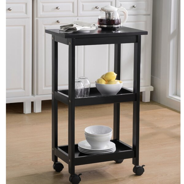 Wiley Kitchen Cart by Breakwater Bay