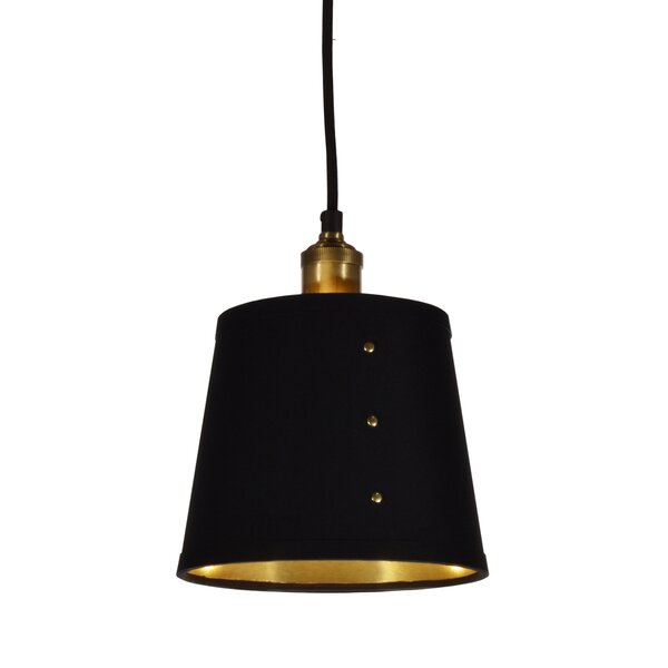Trafton 1-Light Cone Pendant by Brayden Studio