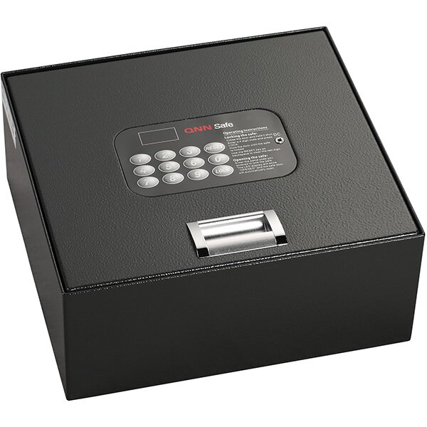 Top Open Key Lock Safe 0.2 CuFt by QNN SafeTop Open Key Lock Safe 0.2 CuFt by QNN Safe