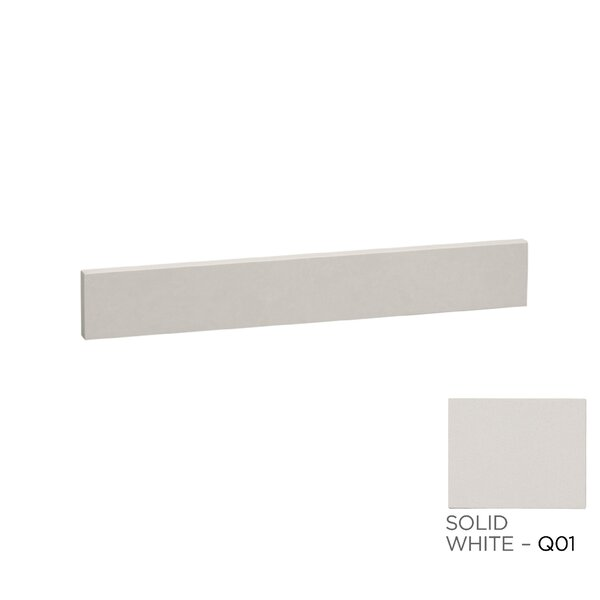 TechStone™ 25 x 3 Backsplash in Solid White by Ronbow