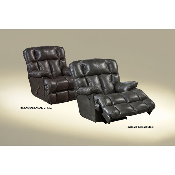 Victor Leather Rocker Recliner by Catnapper