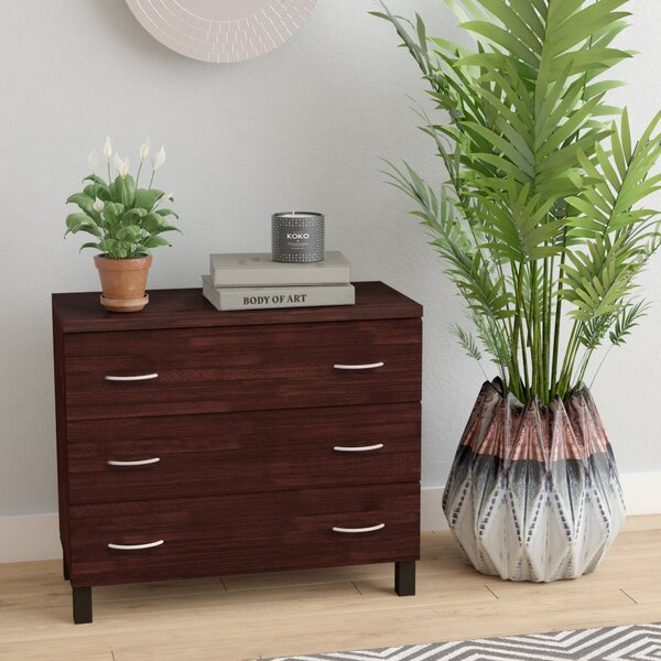 Mcmullen 3 Drawer Chest by Latitude Run