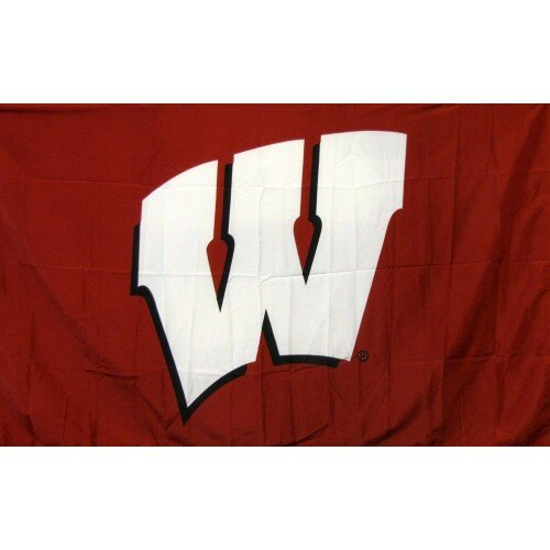 Wisconsin University Polyester 3 x 5 ft. Flag by NeoPlex