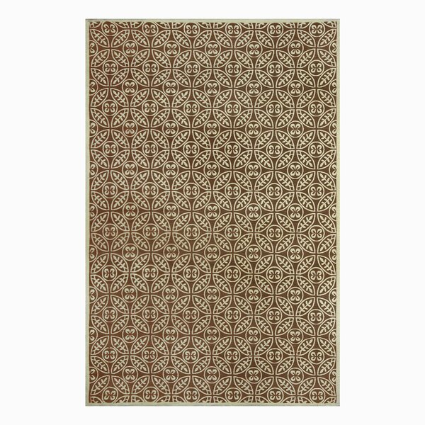 SeanPaul Hand Woven Taupe Area Rug by Gracie Oaks