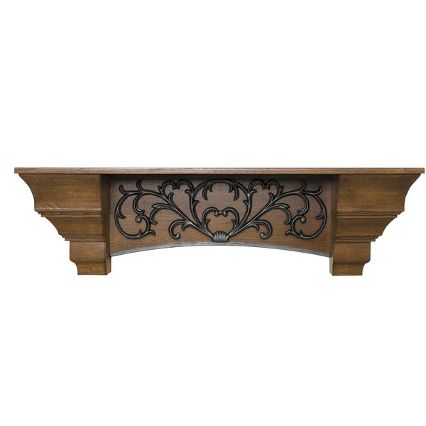 Scroll Fireplace Shelf Mantel by Ornamental Designs