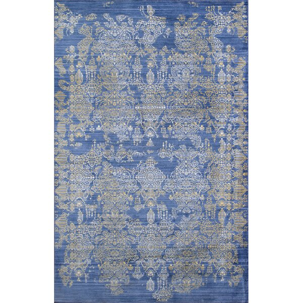 Lawler Blue Area Rug by World Menagerie