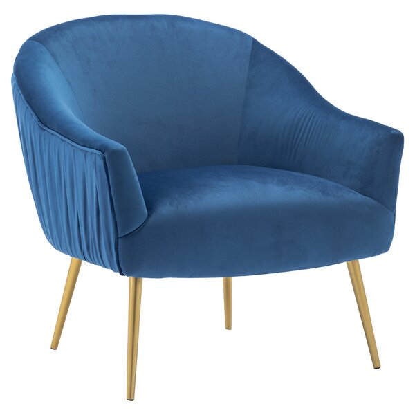 Mika Lounge Chair By Everly Quinn