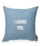 Pettis I Adore You Throw Pillow by Wrought Studio
