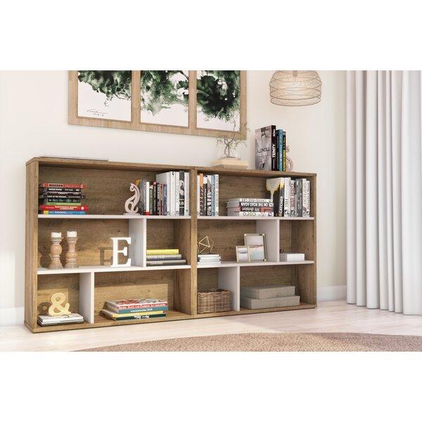Mickey Geometric Bookcase By Brayden Studio