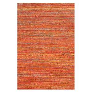 Captivating Orange Area Rug