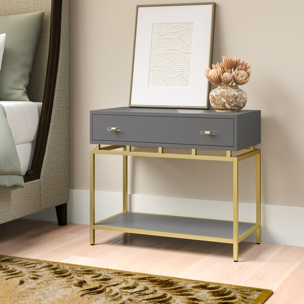 1 Drawer Nightstand by Cynthia Rowley
