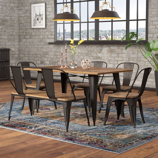 Claremont 6 Piece Dining Set by Union Rustic