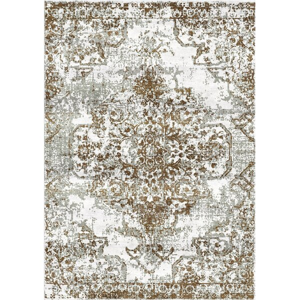 Aliza Handloom Brown/Gray Area Rug by Bungalow Rose
