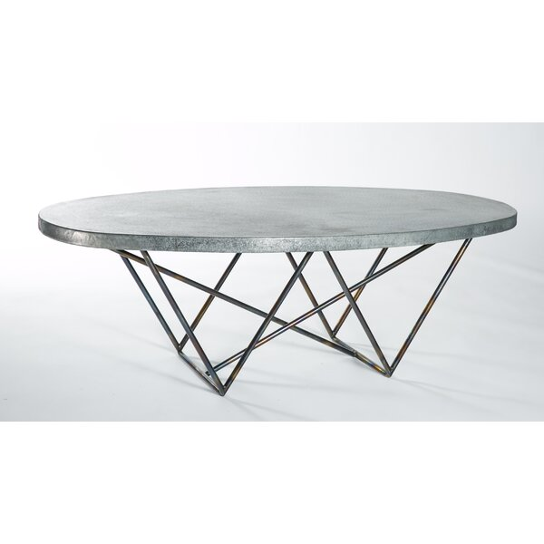 Maximiliano Oval Coffee Table by Brayden Studio
