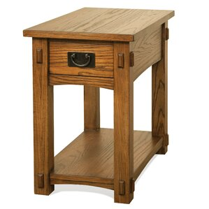 Clyde End Table by Loon Peak
