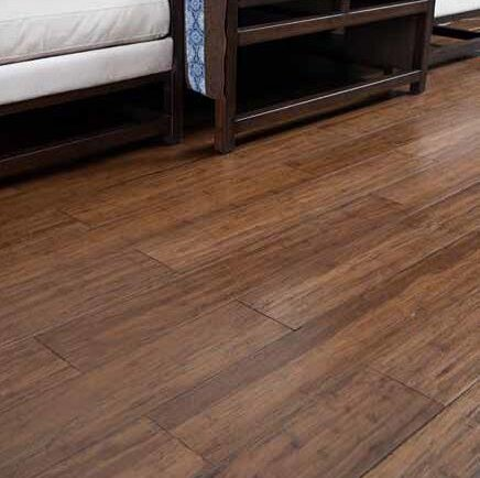 Prefinished Solid Bamboo Flooring in Carbonized by Hawa Bamboo