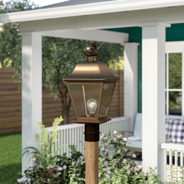 Darrah Outdoor 1-Light Lantern Head by Three Posts