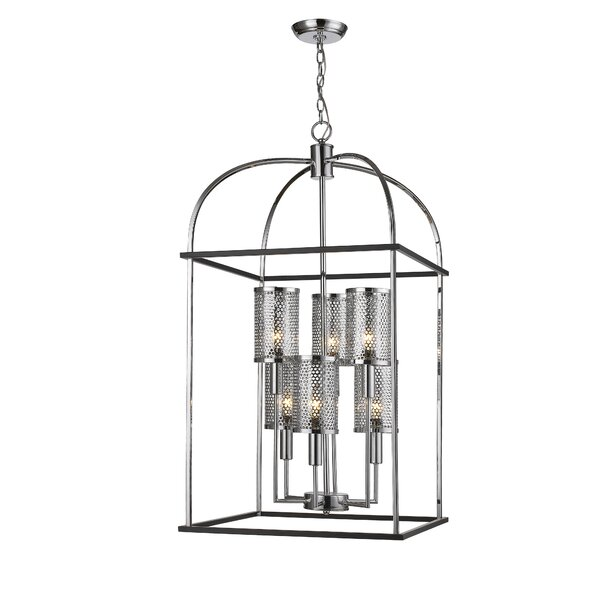 Liles 6 - Light Lantern Rectangle Chandelier by 17 Stories 17 Stories