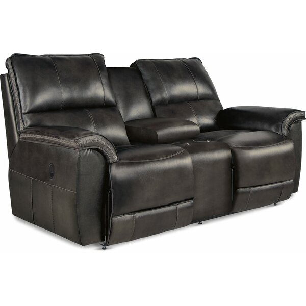 Stay On Trend This Norris Full Reclining Loveseat by La-Z-Boy by La-Z-Boy