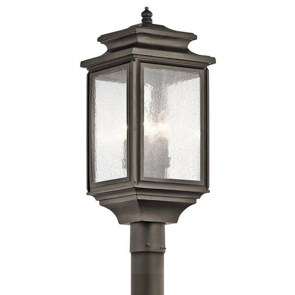 Wiscombe Park Outdoor 4-Light Lantern Head by Kichler