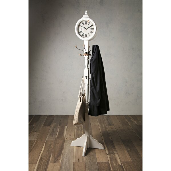 Clock Coat Rack by One Allium Way