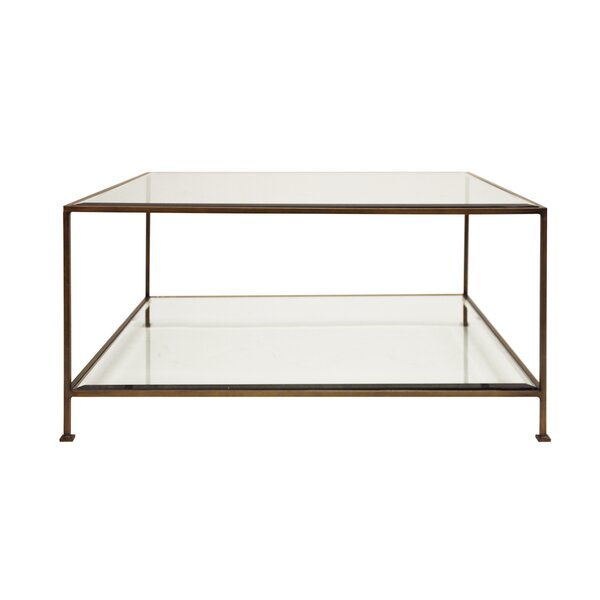 Coffee Table With Storage By Worlds Away