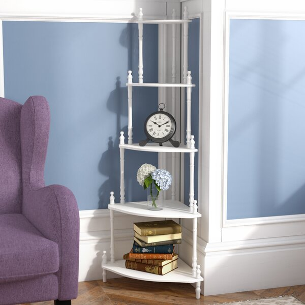 Ogden Corner Unit Bookcase by Charlton Home