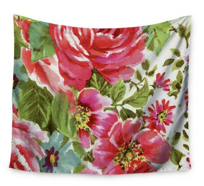 Walk Through The Garden by Heidi Jennings Wall Tapestry by East Urban Home