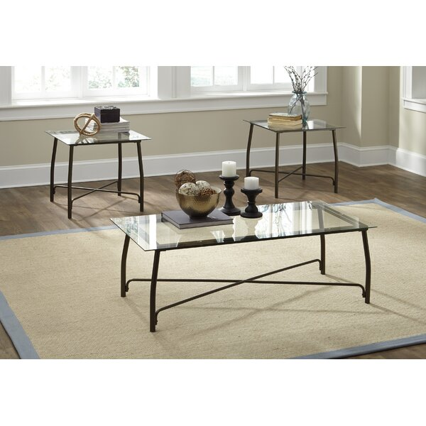 Mabrey 3 Piece Coffee Table Set By Zipcode Design.