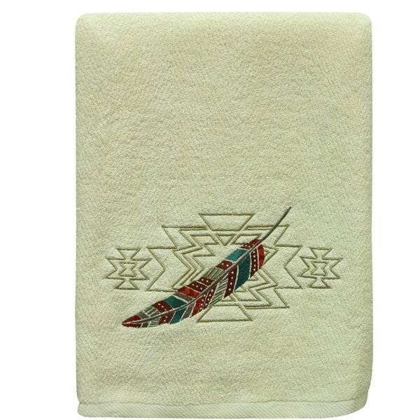 Southwest Boots Terry Cloth Bath Towel by Bacova Guild