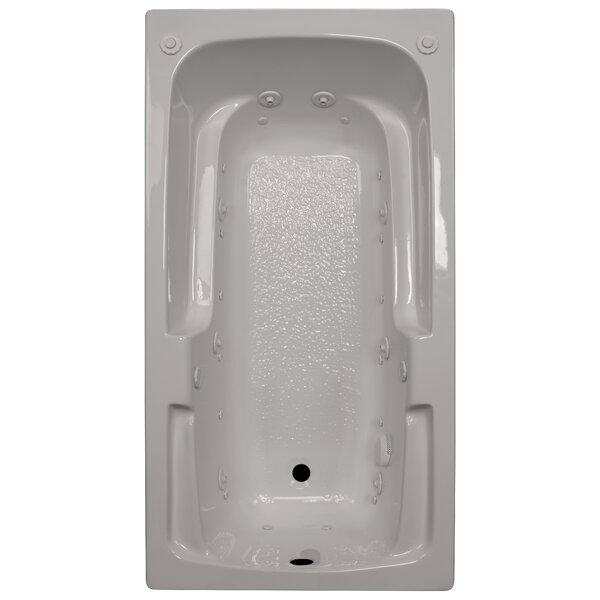 60 x 32 Arm-Rest Salon Spa Air/Whirlpool Tub by American Acrylic