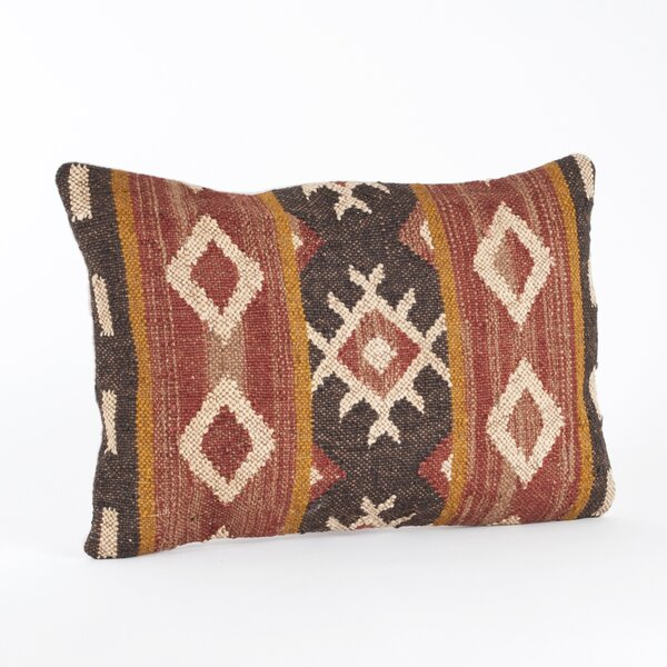 Kilim Lumbar Pillow by Saro