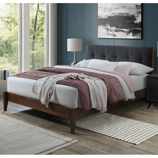 Laylah Dickens Queen Upholstered Platform Bed by Brayden Studio