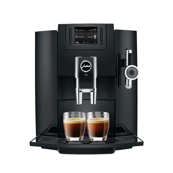 E8 Super-Automatic Coffee & Espresso Maker by Jura