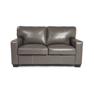 Hillcrest Leather Loveseat