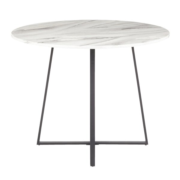 April Contemporary/Glam Dining Table By Everly Quinn Amazing