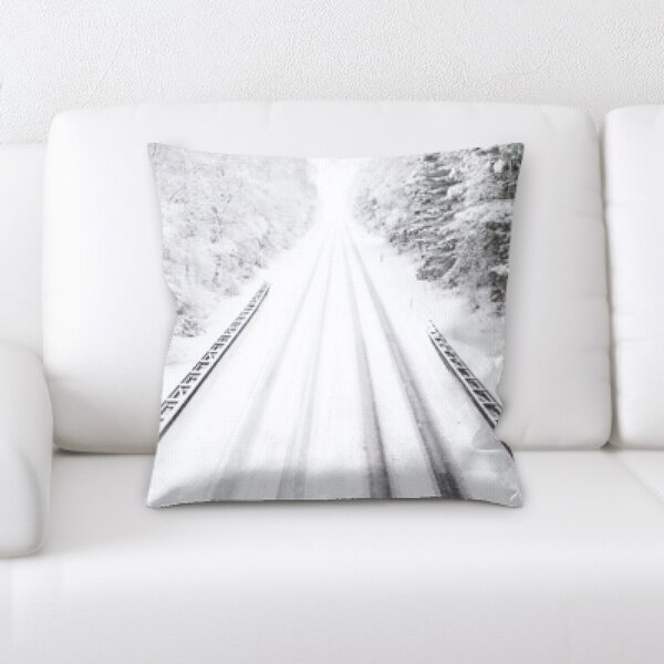 Winter Feeling (61) Throw Pillow by Rug Tycoon