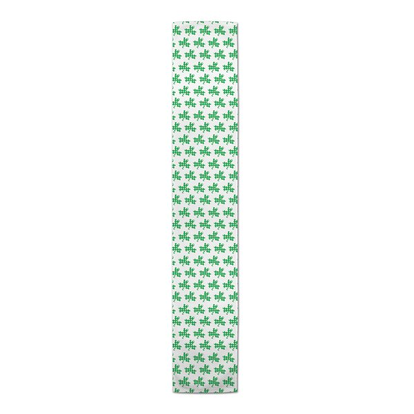 Bledsoe Plaid Clover Table Runner by The Holiday Aisle