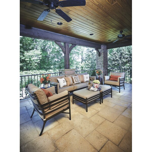 Lancaster Patio Sofa with Sunbrella Cushions by Inspired Visions