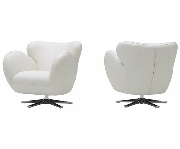 Cana Swivel Lounge Chair by Orren Ellis