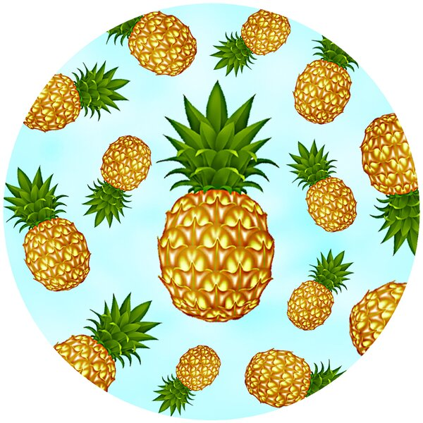 Pineapple Trivet by Andreas Silicone Trivets