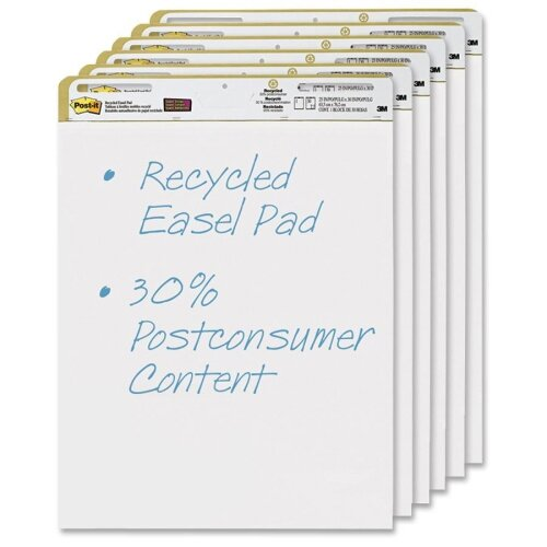 Post-it Repositionable Self-Stick Easel Pads (6 Pe