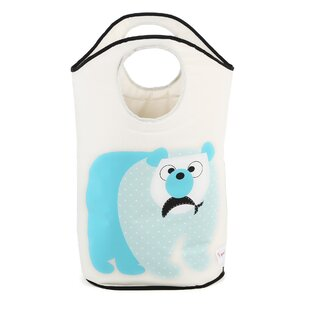 Online Reviews Polar Bear Laundry Hamper By 3 Sprouts