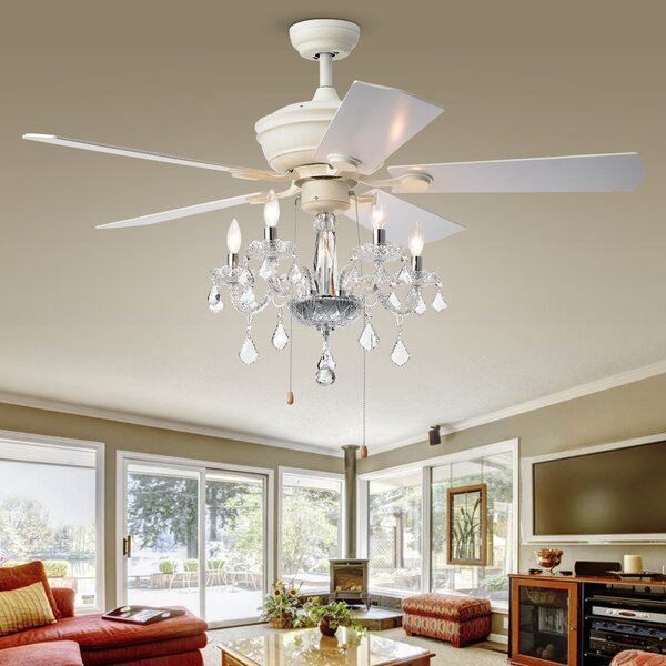 52 Ridgway 5 Blade Ceiling Fan by Astoria Grand