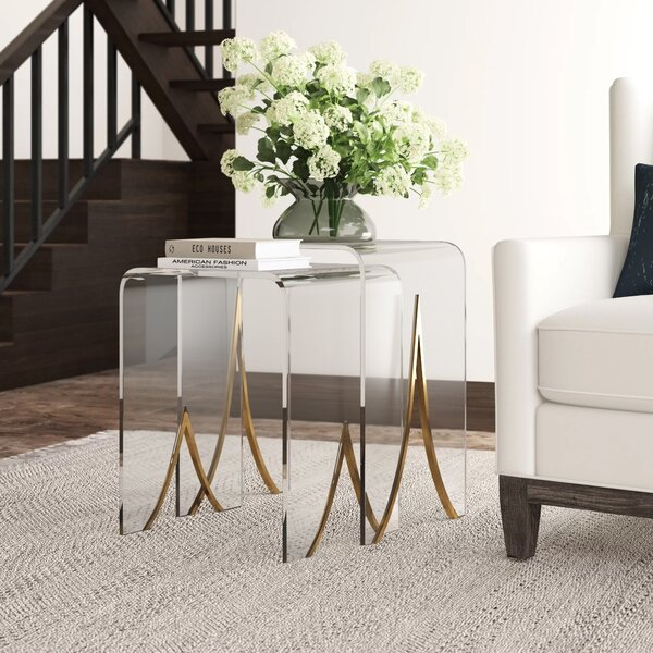 Magnolia 2 Piece Nesting Tables by Gabby