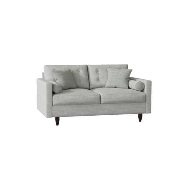 Trendy Jarrard Loveseat by Wayfair Custom Upholstery by Wayfair Custom Upholstery��