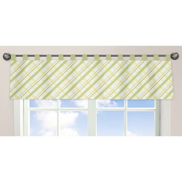 Leap Frog 84 Curtain Valance by Sweet Jojo Designs