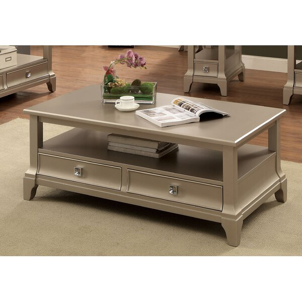 Mcelfresh Contemporary Coffee Table with Storage by House of Hampton